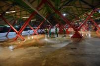 Osmangazi'de Kurban Kesim Yerleri Temizlendi