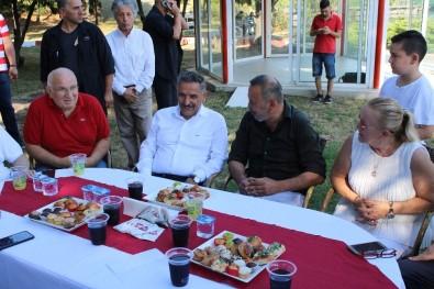 Samsunspor'da Bayramlaşma