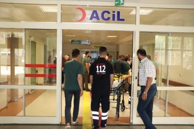 Siirt'te Balkondan Düşen Çocuk Ağır Yaralandı