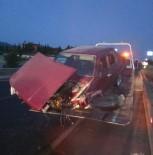 Ahmetli'de Trafik Kazası Açıklaması 4 Yaralı