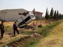 Ailesinden İzinsiz Aldığı Minibüsle Takla Attı Açıklaması 1 Ölü, 4 Yaralı