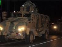 Akçakale'ye askeri araç sevkiyatı sürüyor