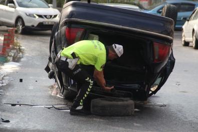 Başkentte Alkollü Sürücü Kaza Yaptı Açıklaması 5 Yaralı