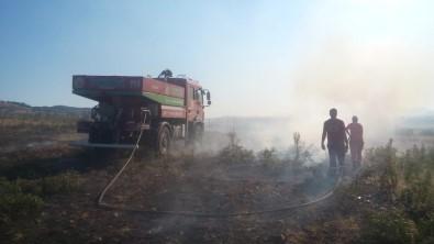 Bingöl'de 2 Köyde  Çıkan Yangın Söndürüldü