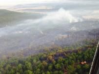 İŞ MAKİNESİ - Eskişehir'deki Yangın Kontrol Altında