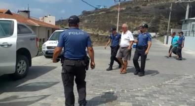 Marmara Adası'ndaki Yangınla İlgili Baba-Oğul Adliyede