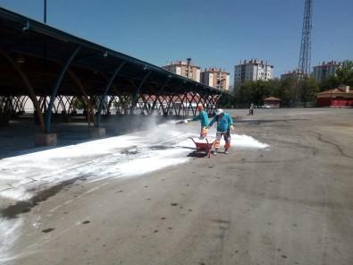 Melikgazi Belediyesi Kurban Kesim Yerlerinde Hijyeni Sağladı