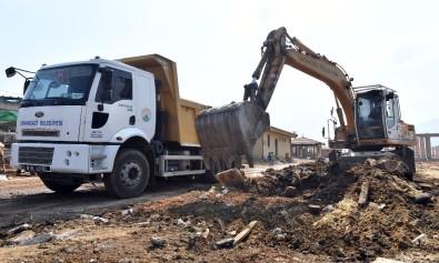 Osmangazi'de Kurban Satış Yerleri Temizlendi
