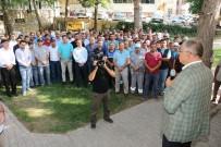 Başkan Öztürk Belediye Çalışanlarıyla Bayramlaştı