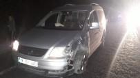 Çorum'da Zincirleme Trafik Kazası Açıklaması 15 Yaralı