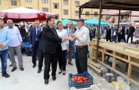 PAZARCI ESNAFI - Erzincan Valisi Ali Arslantaş, Refahiye İlçesinde İncelemelerde Bulundu