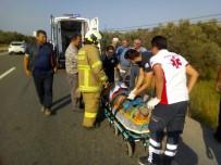 Havran'da Trafik Kazası Açıklaması 1 Yaralı