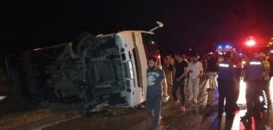 Isparta'da Trafik Kazası Açıklaması 10 Yaralı