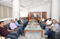 BAYRAMLAŞMA - MHP Teşkilatından Başkan Gürkan'a Ziyaret