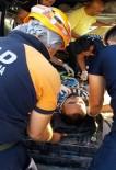 Aksaray'da Minibüs İle Hafriyat Kamyonu Çarpıştı Açıklaması 1 Ölü