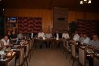 Başkan Kocaman'dan Kaymakam Dursun'a Veda Programı