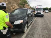 JEEP - Bilecik'te Yaşanan Trafik Kazasında 2 Kişi Yaralandı