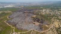 YıLMAZ ÖZTÜRK - Bodrum'da Küle Dönen Bölge Havadan Görüntülendi