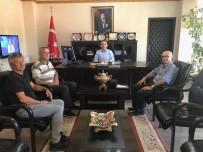 Burhaniye'de THK İlçe Yönetimi Kaymakam Öner'i Ziyaret Etti