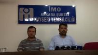 17 AĞUSTOS 1999 - İnşaat Mühendisleri Odası Kayseri Temsilcisi Murat Yıldız Açıklaması