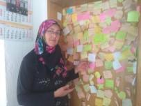 GÖZLEME - Öğrenciler Duygularını Kahvaltı Salonunun Kapısına Yansıtıyor
