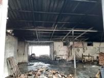 Sakarya'da Fırça Atölyesinde Yangın Çıktı