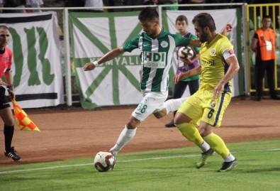 Spor Toto 1. Lig Açıklaması Giresunspor Açıklaması 1 - Menemenspor Açıklaması 0 (İlk Yarı)