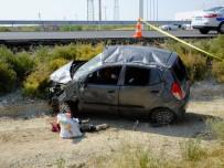 Aksaray'da Otomobil Takla Attı Açıklaması 1 Ölü, 2 Yaralı