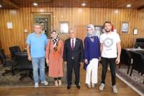 ATATÜRK ÜNIVERSITESI - Genç Aktivistler Kulübünden Rektör Çomaklı'ya Ziyaret