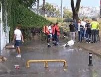 Sağanak yağış İstanbul'da can aldı!