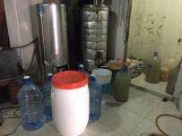 VOTKA - Kuşadası'nda Sahte İçki İmalathanesine Operasyon