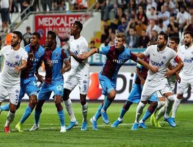 Kasımpaşa-Trabzonspor maçı 1-1 sona erdi