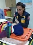 Samsun'da Ambulans İle Kamyonet Çarpıştı Açıklaması 2 Yaralı