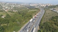 TEM'de Trafik Durma Noktasına Geldi