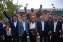 Tokat'ta Başpehlivan Ali Gürbüz Oldu