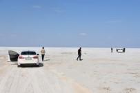 Aksaray'ın Eskil İlçesinden Tuz Gölü'ne Yol Açıldı