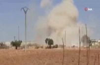 ASKERİ KONVOY - Esad Rejiminden, TSK Konvoyuna Hava Saldırısı