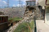17 AĞUSTOS - İstinat Duvarının Evinin Üzerine Çöktüğü Korku Dolu Anları Anlattı