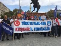 Türkiye Kamu-Sen Kırşehir Şube Başkanı Türk Açıklaması