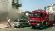 Aksaray'da Markette Yangın