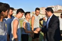 ALI EREN - Aliağaspor FK Antrenmanına Sürpriz Ziyaret
