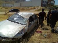 Banka Aracına Çarpan Otomobil Takla Attı Açıklaması 6 Yaralı