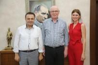 Bilecik Belediye Başkanı Semih Şahin'den Kazım Kurt'a İadeyi Ziyaret