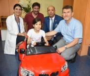 ÇOCUK SAĞLIĞI - Çocuklar Ameliyata Akülü Arabayla Gidiyor