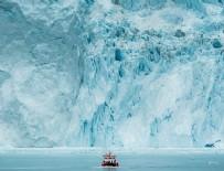 GRÖNLAND - Grönland'da temmuzda 197 milyar ton buz eridi