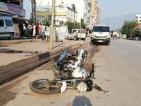 Kumluca'da Trafik Kazası Açıklaması 1 Yaralı
