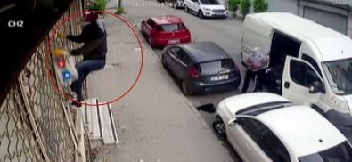 Sultangazi'de 200 Bin Liralık Pantolon Hırsızlığı Kamerada