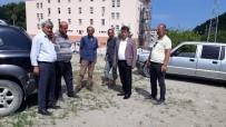Türkeli'de Tır Ve Kamyonlar İçin Otopark Yeri Çalışmaları