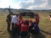 Valla Kanyonu'ndan Geçiş Yapan Sporcunun Ayağı Kırıldı