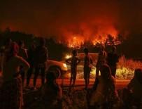 Bakan açıkladı: Yangın kontrol altına alındı